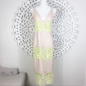 ASOS Eyelet and Lace Dress
